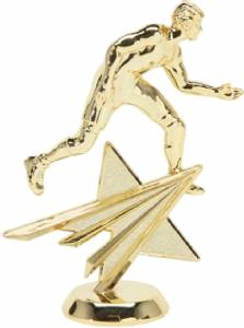 "6"" Wrestling Male Star Series Trophy Figure Gold"