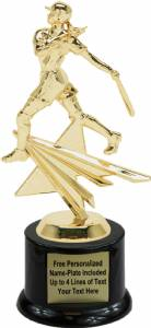 "8"" Female Batter Star Series Trophy Kit with Pedestal Base"