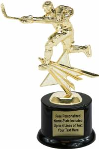 "8"" Hockey Star Series Trophy Kit with Pedestal Base"