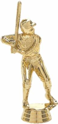 "3 3/4"" Junior League Male Baseball Trophy Figure Gold"
