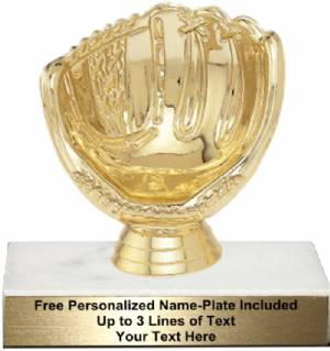 "3 3/4"" Baseball Holder Trophy Kit"