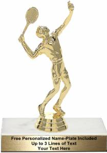 "5"" Tennis Male Trophy Kit"