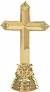 "4 1/2"" Cross Trophy Figure Gold"