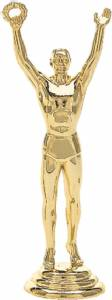 "4"" Victory Male Trophy Figure Gold"