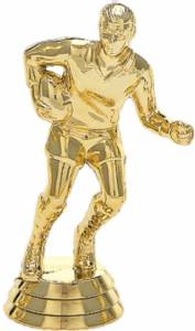 "4"" Rugby Male Trophy Figure Gold"