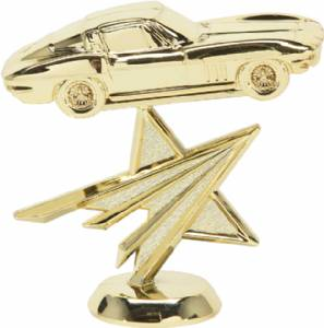 "4"" Corvette Star Trophy Figure"