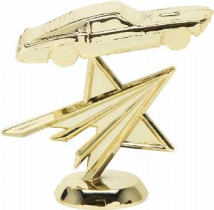 "3 5/8"" Mustang Star Trophy Figure"