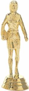 "4"" Saleslady Trophy Figure Gold"