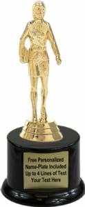 "6"" Saleslady Trophy Kit with Pedestal Base"