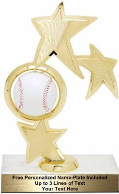 "8 3/4"" Baseball Spinner Trophy Kit"