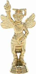 "5"" Spelling Bee Trophy Figure Gold"