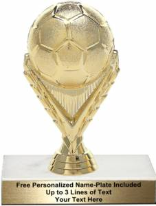 "5 3/4"" Soccer Ball Trophy Kit"