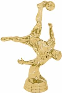 "5 1/2"" Action Soccer Male Trophy Figure Gold"