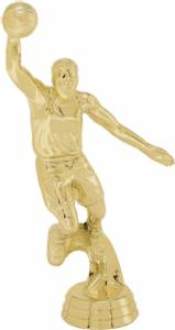 "6"" Action Basketball Male Trophy Figure Gold"
