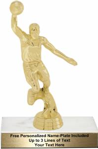 "6 3/4"" Action Basketball Male Trophy Kit"