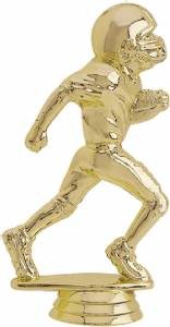 "5"" Junior Football Male Trophy Figure Gold"