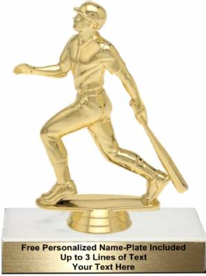 "5 3/4"" Baseball Batter Trophy Kit"