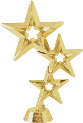 "6"" Star Trophy Figure Gold"