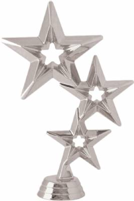 "6"" Star Trophy Figure Silver"