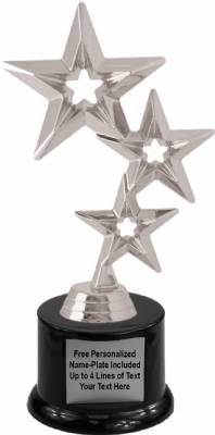 "8"" Star Trophy Kit with Pedestal Base"