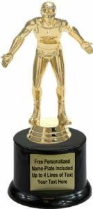 "7"" Wrestler Male Trophy Kit with Pedestal Base"