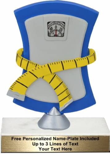 "6 3/4"" Weight Loss Resin Trophy Kit"