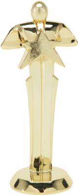 "6"" Star Achievement Trophy Figure Gold"