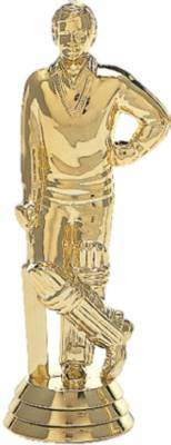 "5"" Cricketer Male Trophy Figure Gold"