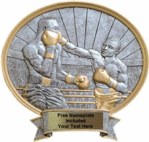 "Boxing Male - Legend Series Resin Award 8 1/2"" x 8"""