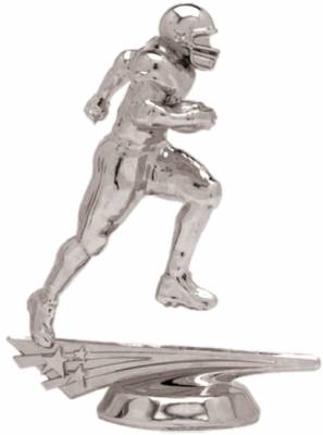 "5"" All Star Football Male Trophy Figure Silver"