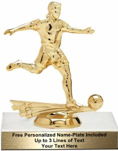 "5 3/4"" All Star Soccer Male Trophy Kit"