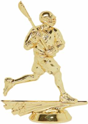 "5"" Allstar Lacrosse Male Trophy Figure Gold"