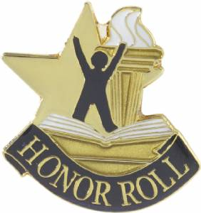 Honor Roll Lapel Pin with Presentation Box