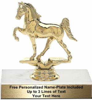 "4 1/2"" Tenn. Walking Horse Trophy Kit"