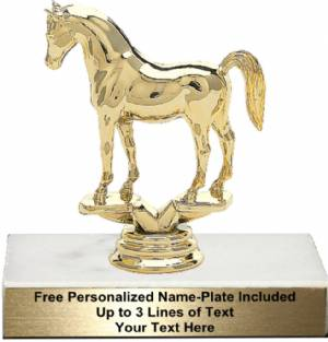 "4 1/2"" Arabian Horse Trophy Kit"