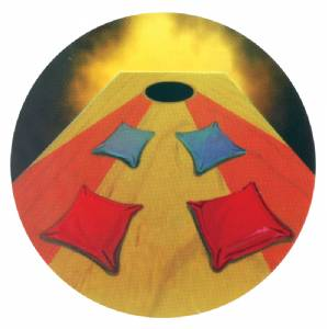 "Corn Hole 2"" Holographic Insert"