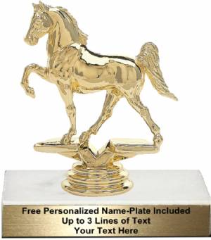 "6 1/4"" Tenn Walking Horse Trophy Kit"