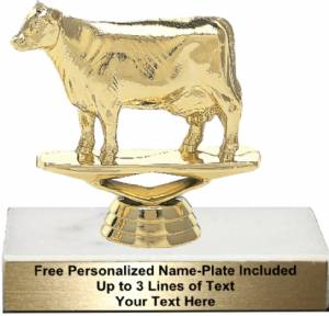 "3 3/4"" Dairy Cow Trophy Kit"