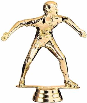 "Gold 4 3/4"" Handball Player Trophy Figure"