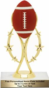 "6 3/4""  Color Sport Football Trophy Kit"