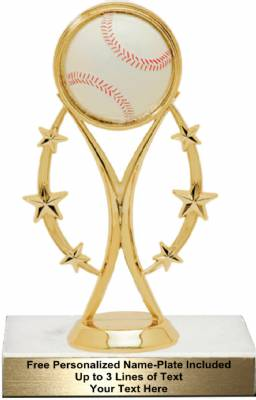 "6 3/4""  Color Sport Baseball Trophy Kit"