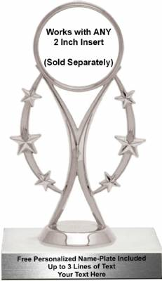 "6 3/4"" Sport Mylar Insert Holder Trophy Kit #2"