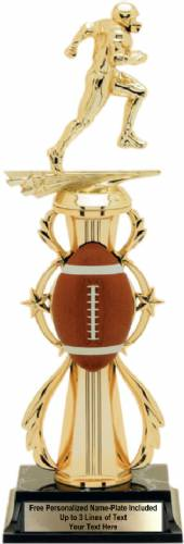 Football Color Riser Trophy Pre-Assembled
