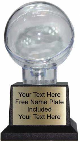 "6"" All Star Baseball Holder Trophy on Black Plastic Base"