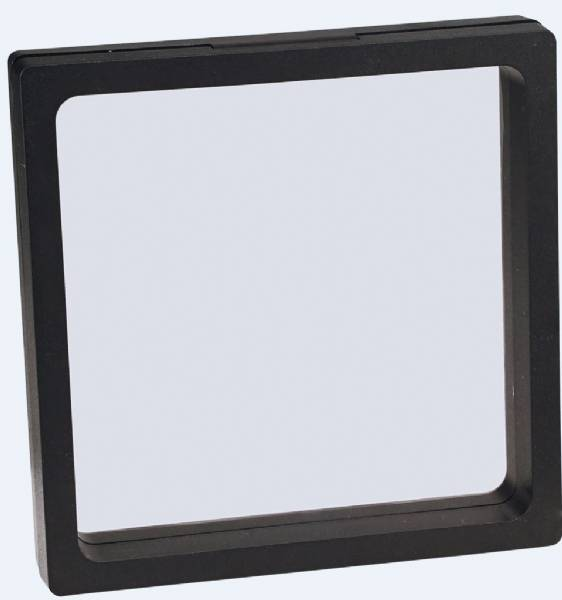 4 1/4 x 4 1/4 Illusion Black Presentation Box with Window