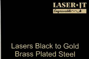 Laser-IT Brass Plated Steel 4 Colors - Cut to size #2