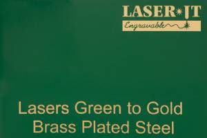 Laser-IT Brass Plated Steel 4 Colors - Cut to size #5