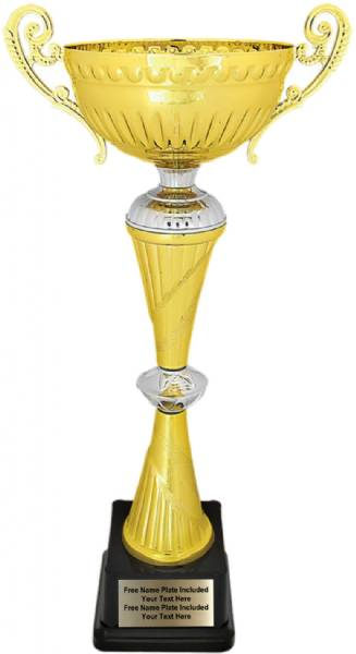 "16 3/4"" Gold / Silver Completed Metal Cup Trophy"