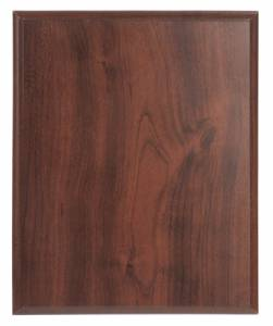 10 1/2 X 13 Cherry Finish Plaque Blank