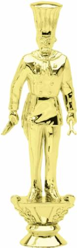 "Gold 7"" Chef Trophy Figure"